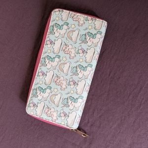 Unbranded unicorn and rainbow wallet